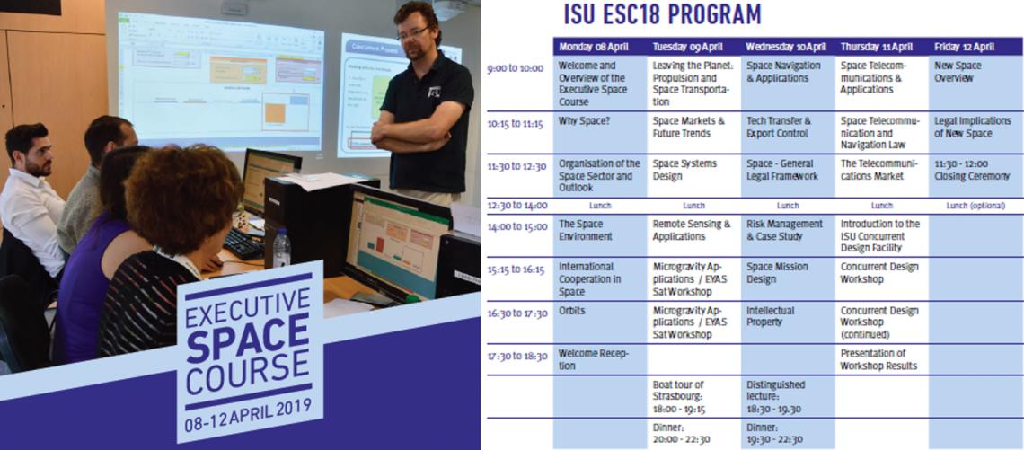 ISU Executive Space Course 2019